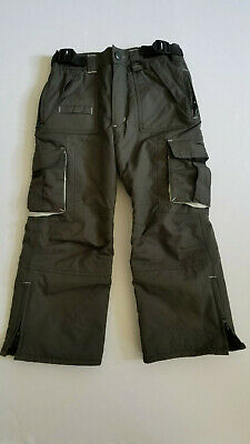 Pulse Insulated Waterproof Snowboard Ski Pant Green Unisex Kids Size Medium