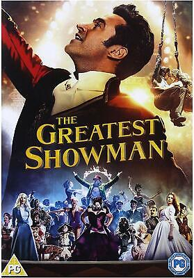 The Greatest Showman DVD 2018 Brand New & Sealed UK Sing Along Edition