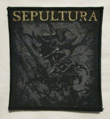 Sepultura The Mediator Woven Patch 4.5X4 inches