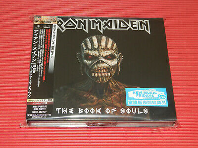 2015 Iron Maiden The Book Of Souls Japan 2 Digipak Cd Set