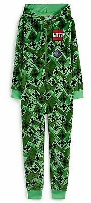 Primark Kids Boys/Girls Minecraft Gaming Jumpsuit All In One Pyjama Fancy Dress