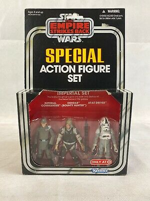 2010 Stars The Empire Strikes Back Special Action Figure Set. Imperial Set.