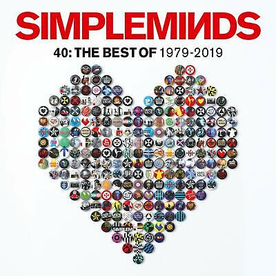 Simple Minds - 40: The Best Of SImple Minds 1979-2019 - UK 3-disc CD album 2019