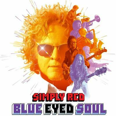 Simply Red - Blue Eyed Soul - UK CD album 2019