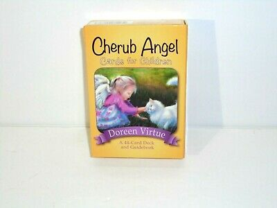 Doreen Virtue CHERUB ANGEL Oracle Tarot Cards For Children COMPLETE 44 Cards