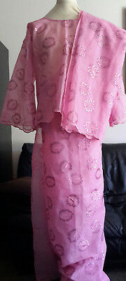 Ladies African Skirt & Top Outfit, Approx. Size 10