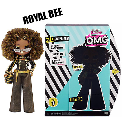 LOL Surprise OMG Royal Bee Fashion Doll with 20 Surprises *Quick ship!*