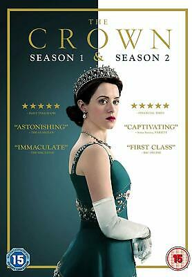 The Crown Season Series 1 & 2 8 Discs DVD 2018 Brand New & Sealed UK Edition