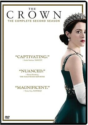 The Crown Season Series 2 DVD 2018 Brand New & Sealed UK Edition