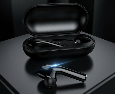New Premium Grade Wireless Headphones Bluetooth 5.0 Earbuds with Charging Case