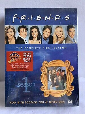 NEW Friends - The Complete First Season (DVD, 2002, Four Disc Boxed Set) Sealed