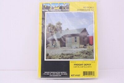 Scale 1//160 Freight Depot Kit  N North Eastern Scale Model  1//144 model