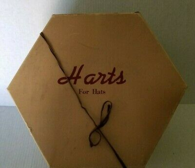 HAT BOX Vintage HARTS FOR HATS Women's Specialty Clothing Accessories HAT BOX
