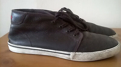 Mens Leather Trainers by LACOSTE Sport size UK 9 (EUR 43)