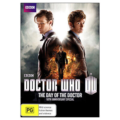 Doctor Who: The Day of the Doctor DVD - Matt Smith, David Tennant, Jenna Coleman