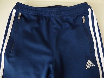 ADIDAS CONDIVO 14 TRAINING SOCCER PANTS Climacool Blue/White - Size YM