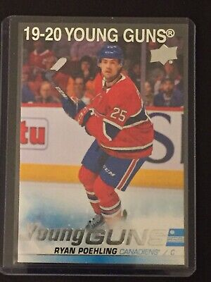 2019-20 19-20 Upper Deck Series 1 Ryan Poehling Young Guns Rookie Rc