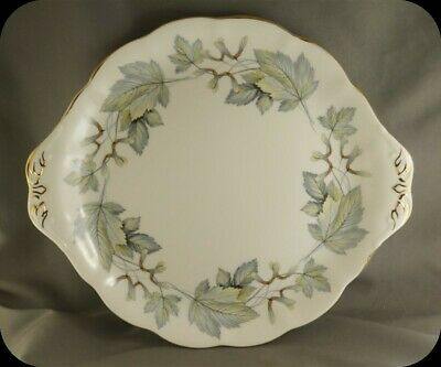 Royal Albert Silver Maple Cake Plate (two Available)