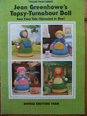 Jean Greenhowe's - Topsy-Turnabout Doll - Toy Knitting Pattern magazine