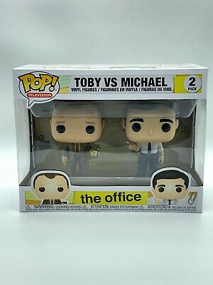 Funko Pop 2-Pack! The Office 'Toby vs. Michael' **Free expedited shipping**