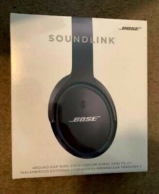 ✳️ BRAND NEW! ✳️ Bose SoundLink Around-Ear Wireless Headphones II 2 - BLACK NIB!
