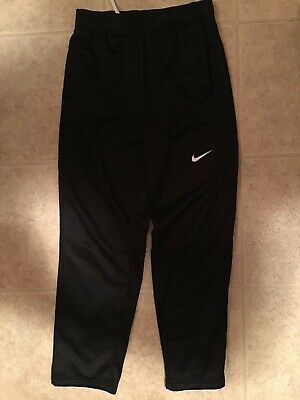 Nike Kids/' THERMA ELITE STRIPE Basketball Sweatpants Cool Grey 803773-071 a