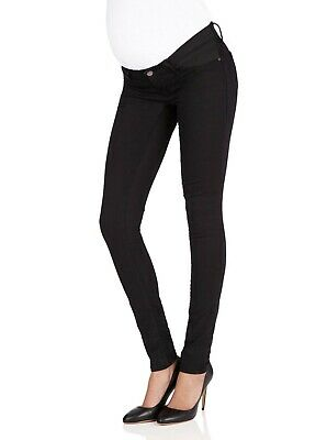 Just jeans Maternity Super Skinny Jean In Black worn once size 10 rrp $139