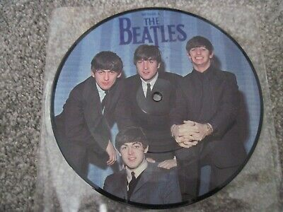"""THE BEATLES A Hard Days Night  1984   PICTURE DISC 7"""" Parlophone  NEAR MINT"""