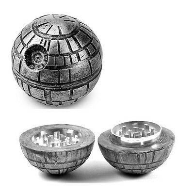 3 Layers Star Wars Death Herb Mill Crusher Tobacco Grinder 55mm New Year Gift