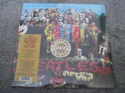 THE BEATLES Sgt Pepper  2 x 180g ANNIVERSARY EDN    2017 APPLE   sealed