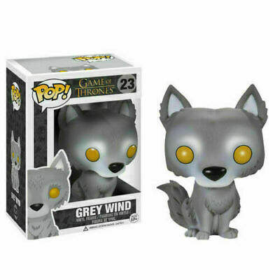Funko Pop Game of Thrones Grey Wind Wolf Action Figure Ice Wolf Model #23 Hot