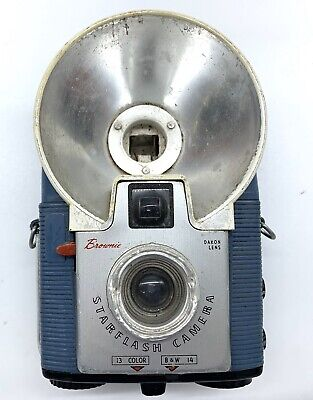 Vintage 1950's Kodak Brownie  STARFLASH FILM CAMERA
