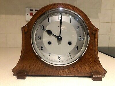 EARLY 1950's SMITHS ENFIELD 8 DAY 1/2 HOUR STRIKING MANTEL CLOCK