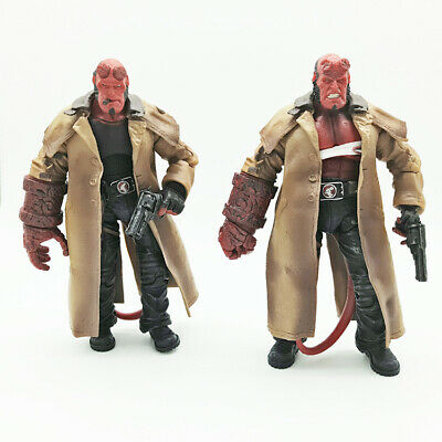 """Series 2 Collection 18cm With Box Hellboy Mezco HB 7/"""" Action Figure Smoking Ver"""