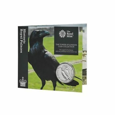 New - 2019 Tower Of London £5 Five Pound Coin Legend Of The Ravens + Coin Holder