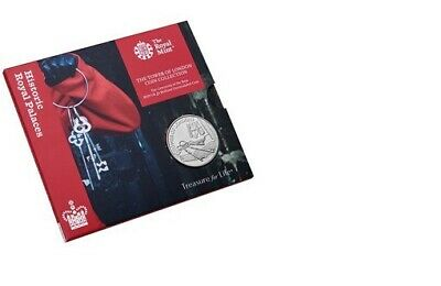 2019 TOWER OF LONDON 5 FIVE POUND COIN The KEYS BU Royal Mint Final Coin 4 Set