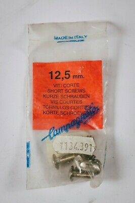 NOS CAMPAGNOLO 12,5mm Viti Corte Short Screws Parts Replacement