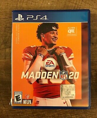 Madden NFL 20 -- Standard Edition (Sony PlayStation 4, 2019)  PS4