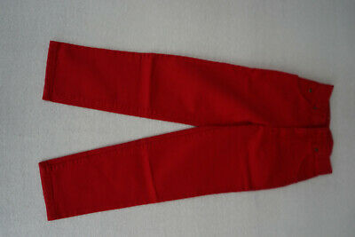 Lee Youth Kansas Children Jeans Girl 8 Y Trousers Gr.128 cm Red New AD11