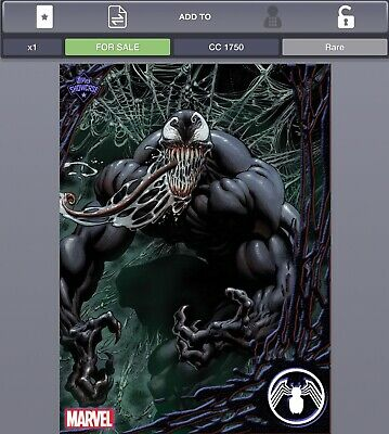Topps Marvel Collect Venom Showcase #10 - Digital