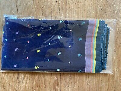 New Paul Smith Silk Pocket Square With Tag And Sealed In Original Wrapping