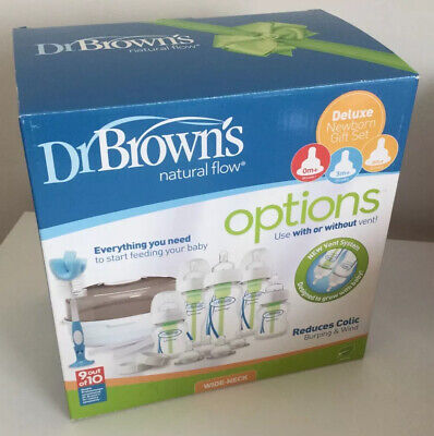 Dr Brown's Options Natural Flow Options Deluxe Newborn Gift Set