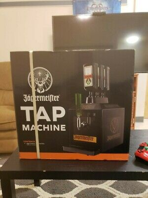 Jagermeister Tap Machine 3 Bottle Shot Dispenser Chiller Kegerator Cooler JEMUS