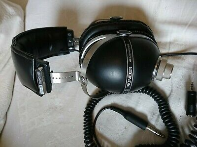Pioneer Se-505 Vintage 1973 Stereo Headphones Great Condition With 3.5Mm Adaptor