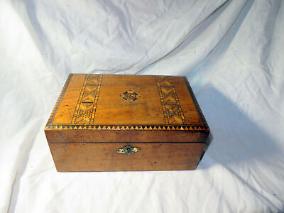 An Antique Wooden Box