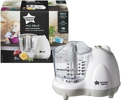 NEW Tommee Tippee Mini Blend Baby Food Blender - Perfect For Small Portions