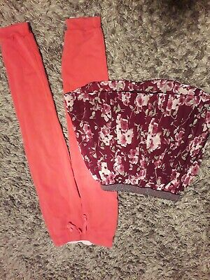Girls' Skirt And Joggers 7-8 Years. F & F And H and M