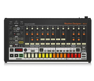 Behringer RD-8 RHYTHM DESIGNER  Drum Machine, New!