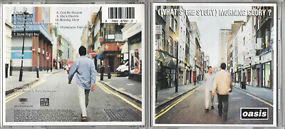 OASIS - (What's The Story) Morning Glory? - 1995 CD Album  (Canada Import) Epic