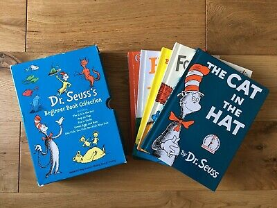 Dr Seuss Beginner Book Collection 5 Books Set Cat in the Hat